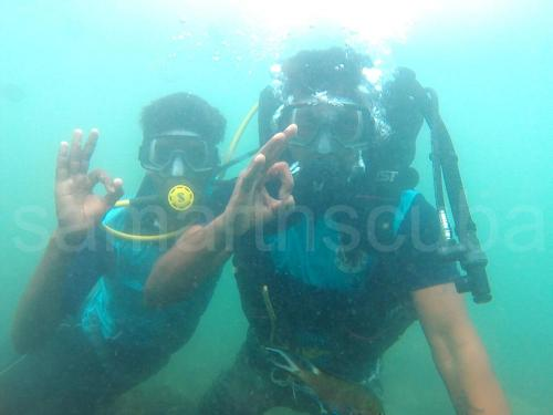 Happy Customer - Samarth Scuba