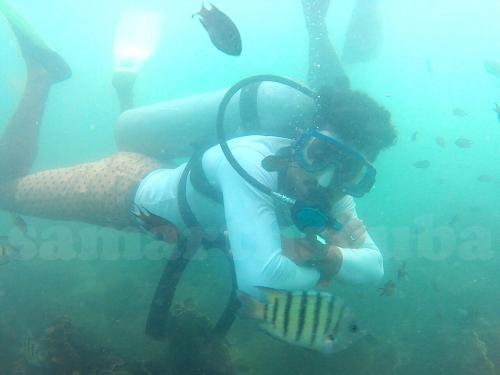 Deep Diving With Samarth Scuba